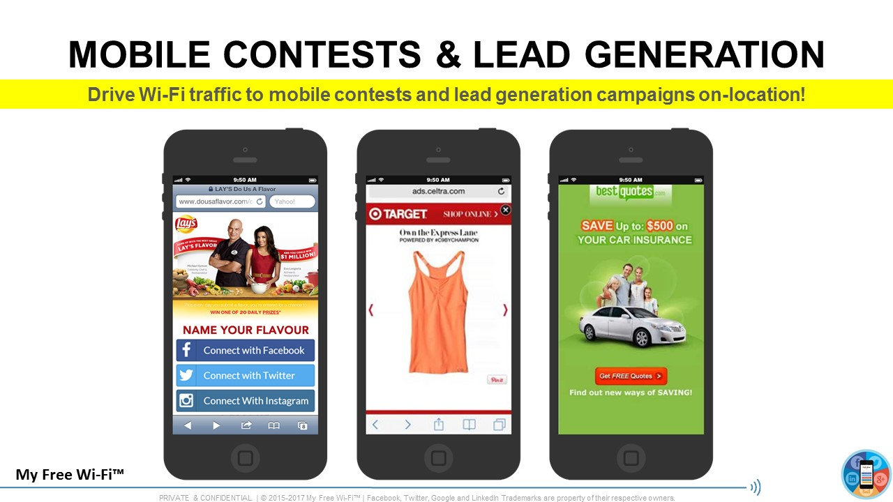 Run Mobile Contests & Generate Leads
